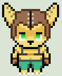 RPG Maker VX Ace Ratchet Sprite by HonorAmongScars