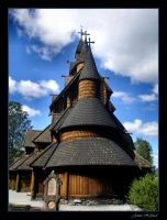 Heddal Stave Church by Navanna