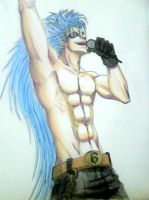 segunda version Grimmjow by Dragonddai