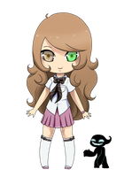 AnE OC: Alessa by BubblesTea