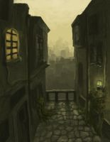 View of the City by polian