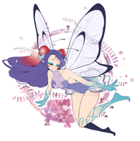 Butterfree Gijinka (or CYOP) adopt - CLOSED by Desiree-U