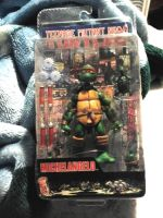 TMNT Neca Clamshell Michelangelo picture #1. by IzzyPokemon