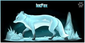.: Ice Fox :. by FantaTara