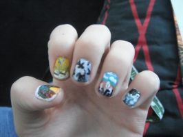 My awesome Muse nails by My-Life-In-Pictures