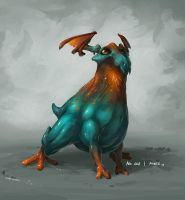 Monster No. 008 by Onehundred-Monsters