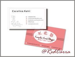 KEB's Business Card by R3dCarra