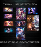 Tag Wall January by Renan-DS