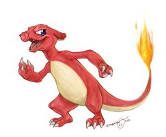 charmeleon :B by moonmystique