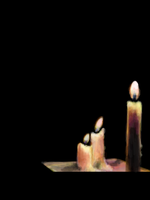 candles. by BLACK-CROWN