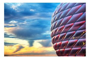 20070815 - Allianz Arena - HDR by atyclb