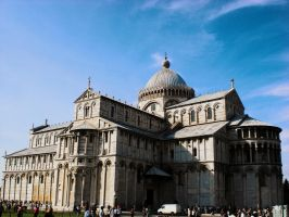 Baptistry Of Pisa by ErinM2000