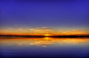 An other sunset from France ! by Toinant