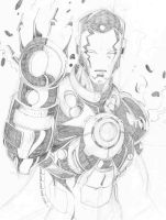 iron man finished by g12affix