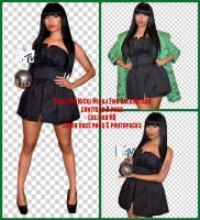 PACK PNG NICKI MINAJ MTV EMA'S 2014 (BACKSTAGE) by SuperBassPngs2