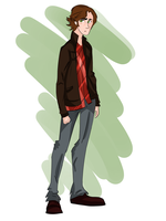 Sam Winchester by captaink1rk