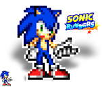 Sonic runners pose by supersilver27