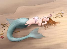 beached- color by AngelikAdrie