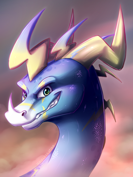 Icelectric Headshot by IcelectricSpyro