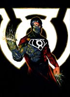 Sinestro Corps Cyborg Superman by Bihumi
