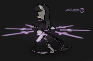 Octavia - Spiral Swords by Bluesparkks