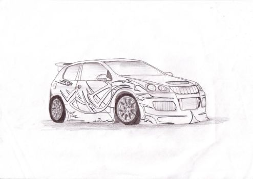 Volkswagen Golf R32 by motor-man