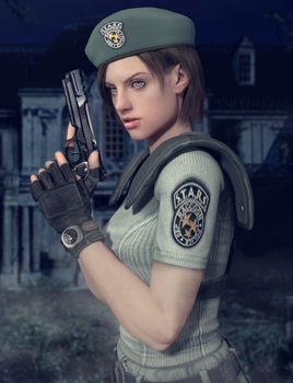 .:Jill Valentine:. by ClaireKaede03