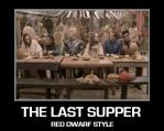 The last supper - Red Dwarf style by DoctorWhoOne