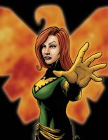Jean Grey- Pheonix by Taylor-made