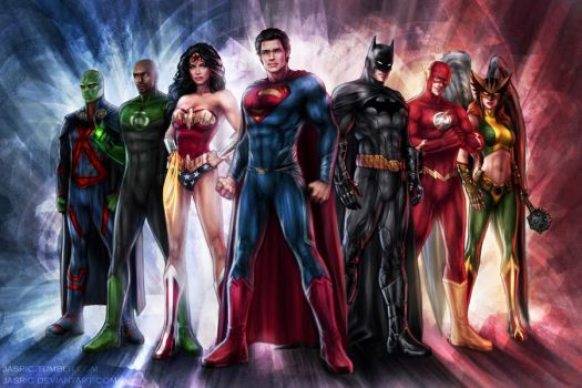 Justice League by jasric