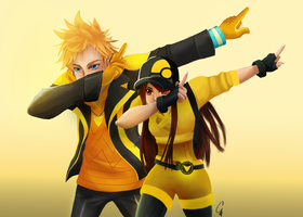 Request: Victory Pose by SurrealMime