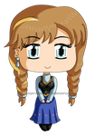 Frozen: Chibi Anna by izka-197
