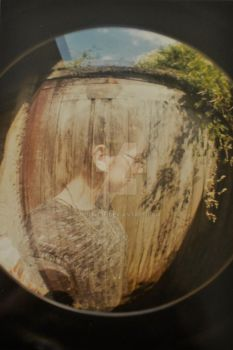 Lomographic self portrait by vilijntje