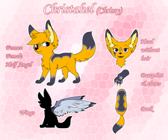 Christahel ref 2014 by CrispyCh0colate