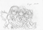 Rozen Maiden [rough Sketch] by LacriChan