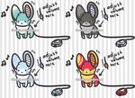 OPEN Speaker Mouse Adoptables by LinaLeeL