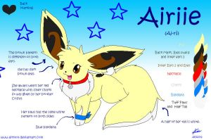 Airiie Eevee Ref -new- by Airmon