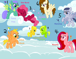 *CLOSED* MLP Adoptables: Pegasi by acornheart465