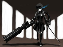 Black Rock Shooter by HaruSaku