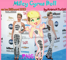 Miley Cyrus Doll (en los Billboard 2013) by RoohEditions