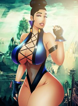 Princess Kitana [+18 MK GOLD Redesign 2K16 UPDATE] by JassyCoCo