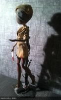 monster high custom silent hill nurse by Rach-Hells-Dollhaus