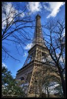 The Eiffel tower by Haywood-Photography