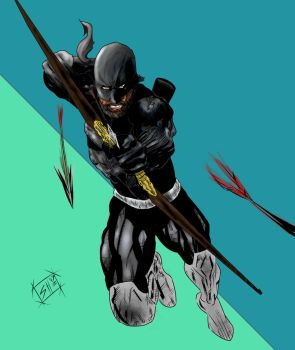 Black Arrow Action! by g-kwan155