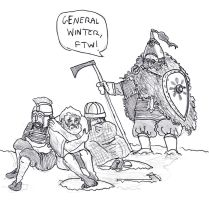Vikingr vs Reality: Goidils vs General Winter by FritzVicari