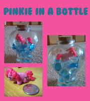 Pinke Pie in a Bottle by IcyPanther1