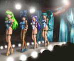 Girls on a Runway by erikson1