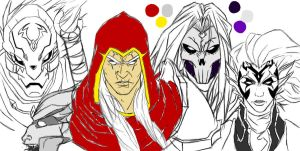 Darksiders WIP by StrangerOfTheEast