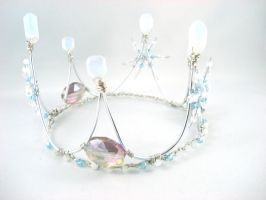Winter Wonderland - Ice Queen Crown by angelyques