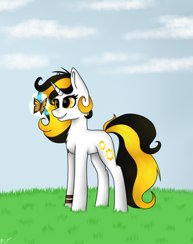 MLP-AT: Golden Steam by tina1412